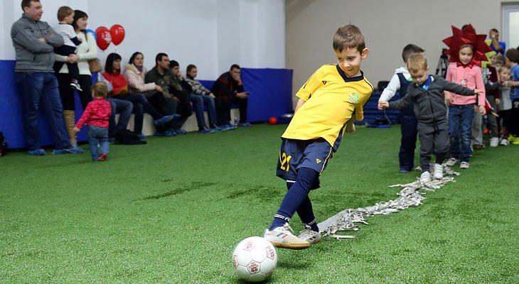 Футбольный лагерь «Чемпион» на стадионе «Металлист»