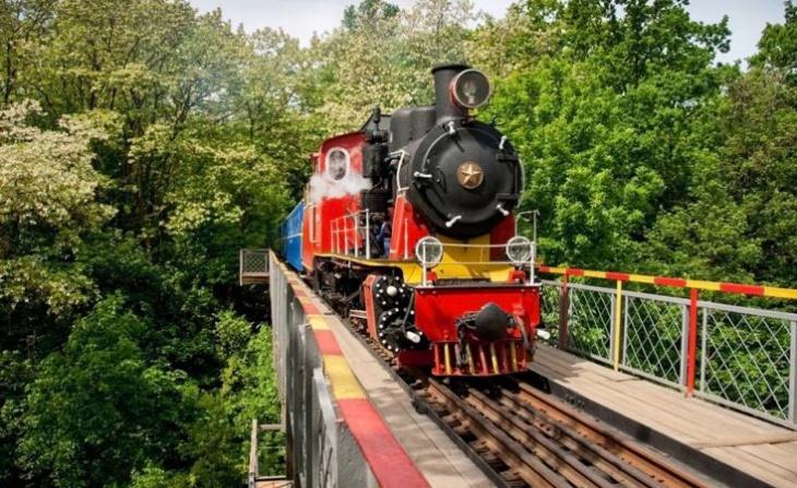 Шестьдесят пятой сезон работы Киевской детской железной дороги