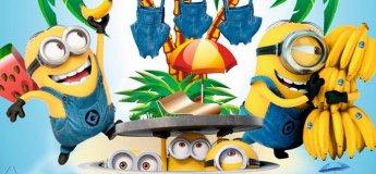 BananaDay в аквапарке HappyDay