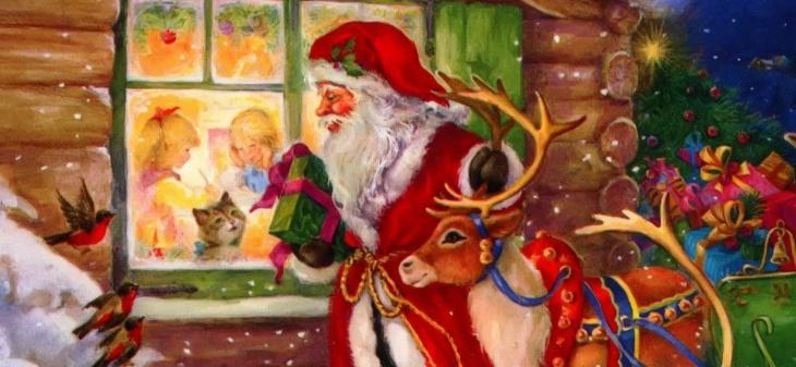 Выездное поздравление от Деда Мороза и Снегурочки