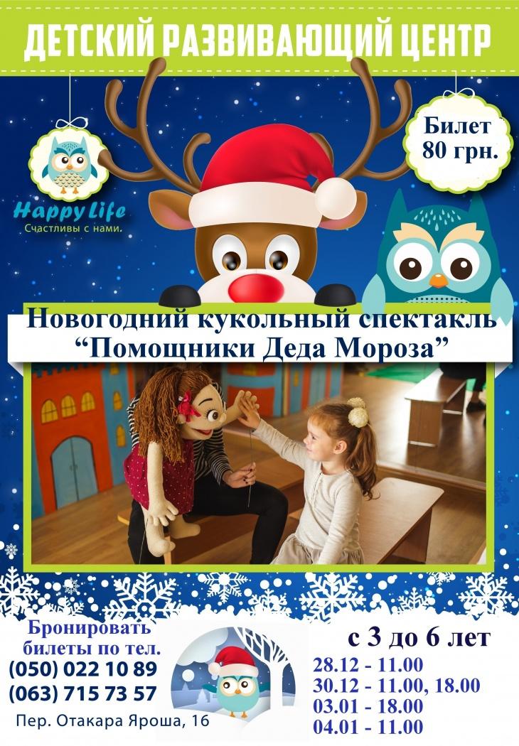 Новогодние билеты в кукольный театр купить билет на спектакль тольятти