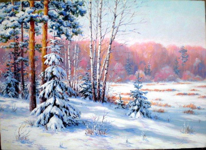 Картинки по запросу зимний пейзаж