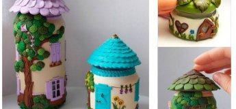 Будинок для свічки або прикрас