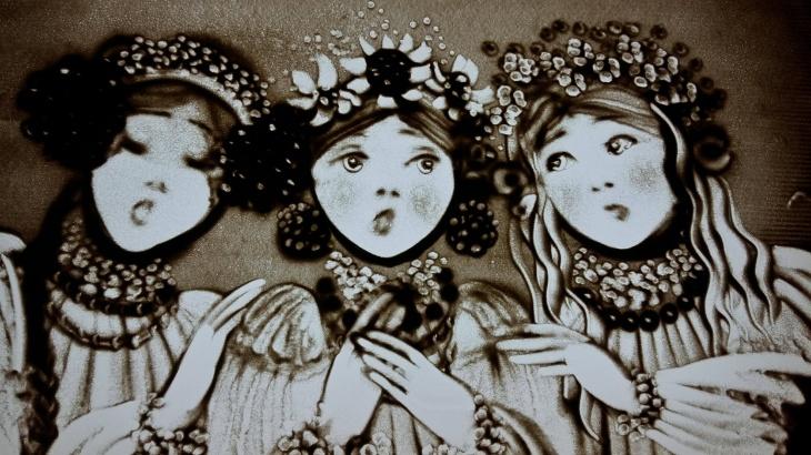 Живая поэзия Шевченко. Образовательная песочная шоу-программа