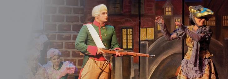 """Музична казка-феєрія """"Стійкий олов'яний солдатик"""""""