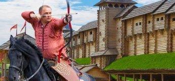 """""""Скифы"""" - Международный фестиваль конных боевых искусств"""