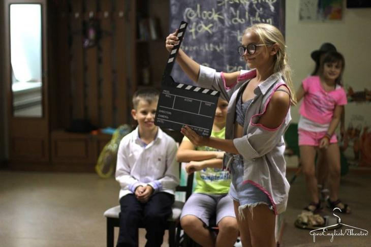 Мастерство киноактера на английском для детей и подростков