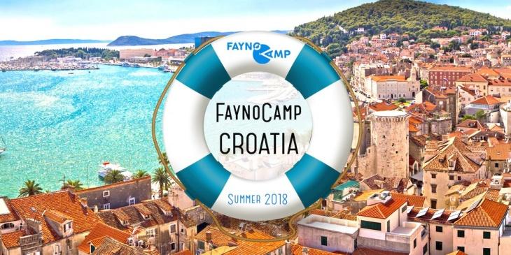Англомовний дитячий табір в Хорватії Fayno Camp Croatia. Літо 2018