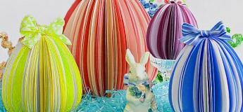 Декор до свята Великодня - іграшкова писанка