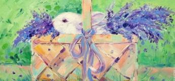 """Майстер-клас із живопису """"Великодній кролик"""""""