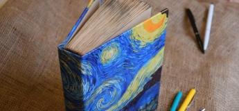 Мастер-класс блокнот handmade своими руками
