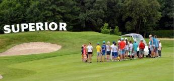 Открытый урок по гольфу для новичков