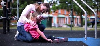 """Обучающий тренинг для родителей """"Первая помощь детям при травме"""""""