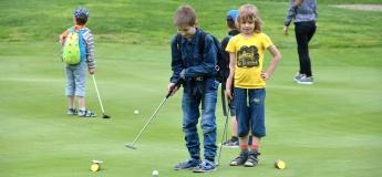 Большой открытый урок гольфа для детей и подростков