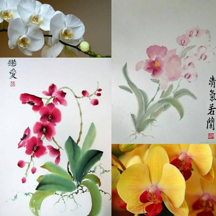 Семейные мастер-классы по восточной живописи У-Син