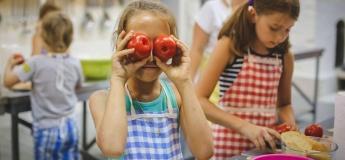 Кулінарний гурток для малюків. Яскраві томати