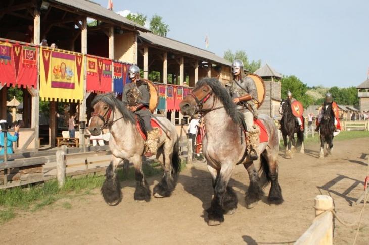 Фестиваль Средневековья в Древнем Киеве