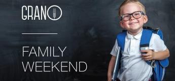 GRANO family weekend, сентябрь