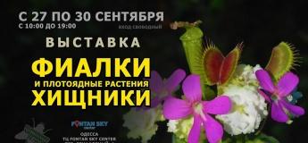 """Выставка """"Фиалки и Хищники"""""""