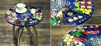 Мастер-класс по мозаике: домашний декор