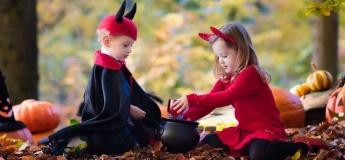 Хэллоуин для малышей в «Грифеле»