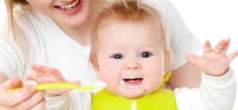 Все о питании малышей до года