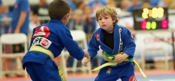Тренировки для детей по Джиу джитсу
