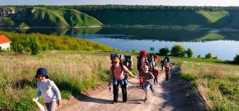 Похід для найменших: Подільські Товтри і Бакота