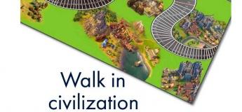 """Навчально-пізнавальна настільна гра """"Walk in сivilization"""""""