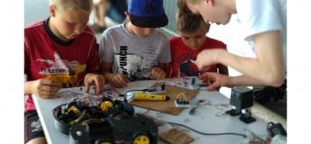 Набір у Школу робототехніки та програмування на Троєщині