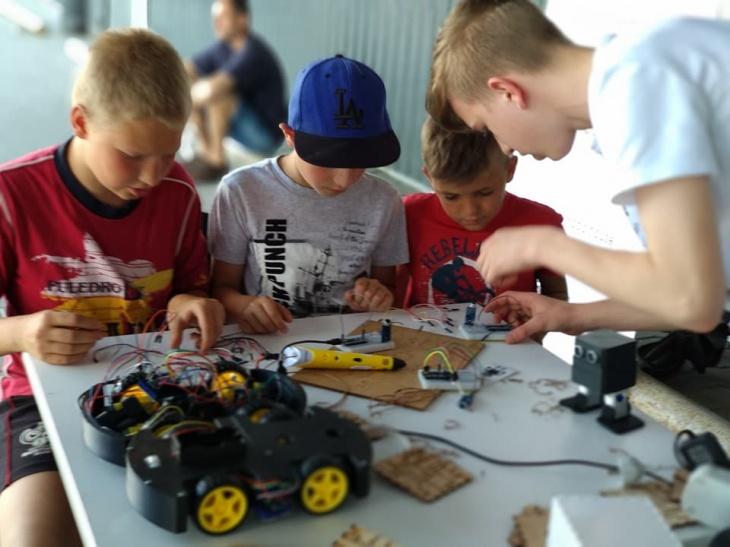Набор в Школу робототехники и программирования на Троещине