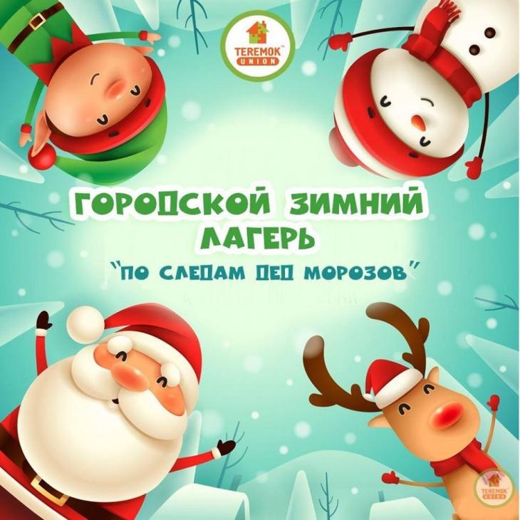 """Лагерь на зимних каникулах """"По следам дед Морозов"""""""
