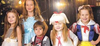 Новогодний вечер для детей во Дворце студентов