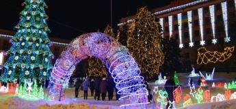 Афиша открытия новогодних елок