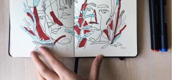 Майстер-клас з абстракції та авторського малюнку