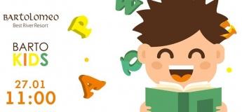 Игровой английский в Barto Kids