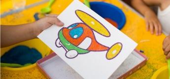 """Мастер-класс """"Картины из цветного песка"""""""