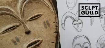 Художній майстер-клас для дітей. Вивчення африканських масок
