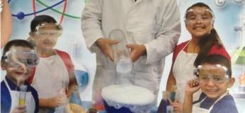 Эксперименты для детей с американским преподавателем Стивом Хьюэром
