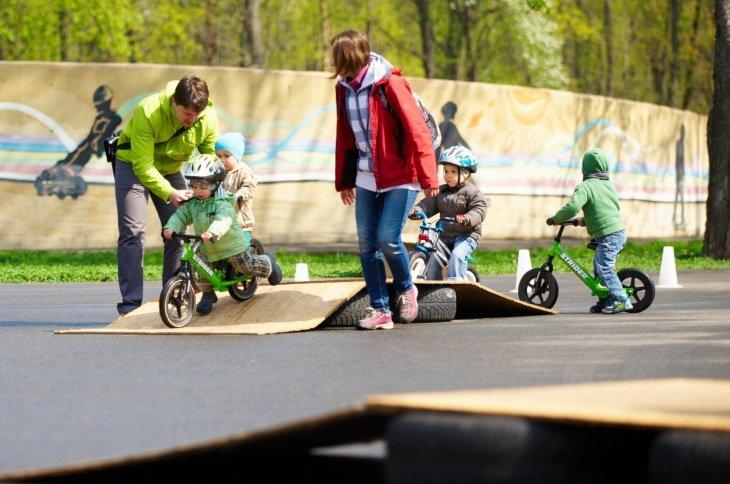 Тренировки на беговелах в Минске для детей 2, 3, 4 и 5 лет