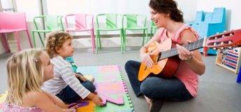 Заняття з музики для дітей 1-5 років