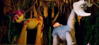 """Кукольная сказка """"Носорог и Жирафа"""""""