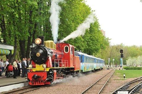 63-й сезон поїзної роботи Київської дитячої залізниці