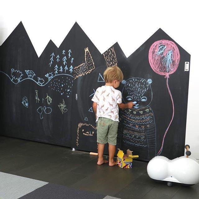 Доска для рисования мелом на стену