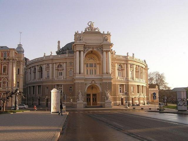 одесса-оперный театр фото