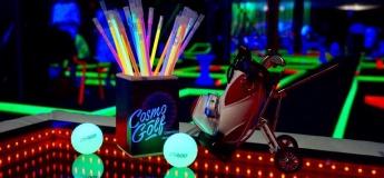Cosmo Golf. Светящийся мини-гольф
